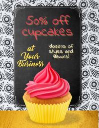 Bakery mothers Day bake sale Flyer