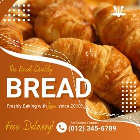 Bakery/Pastry/Bread Instagram Template