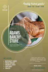 Bakery Poster design template