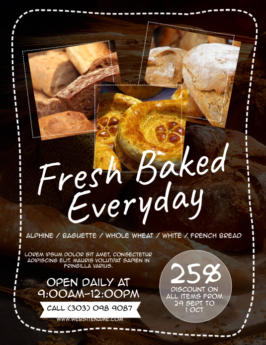 Bakery Flyer