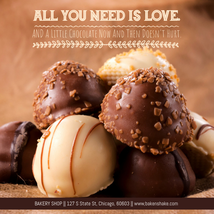 Bakery Promo Ad Template