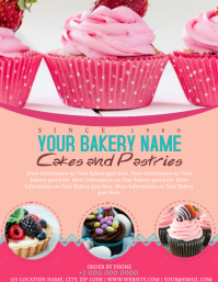 Bakery Shop Flyer template