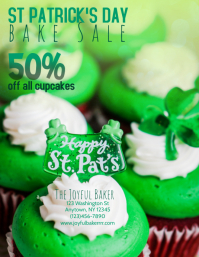 Bakery St Patrick's Day Sale Flyer