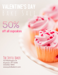 Bakery valentine's Day Sale Flyer