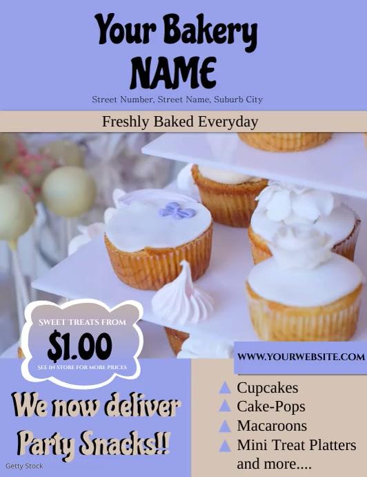 Bakery Video Flyer