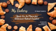 Bakery video template Digital Display (16:9)
