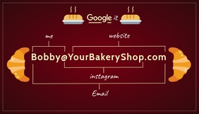 BakeryShop Business Card Template