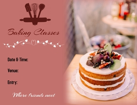 BAKING CLASSES