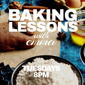 Baking lessons
