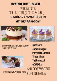 baking A4 template