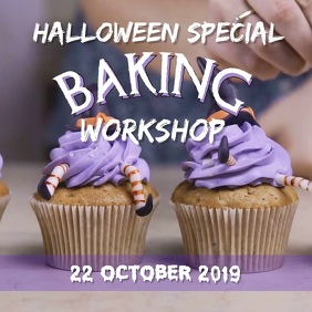 Baking workshop Square (1:1) template