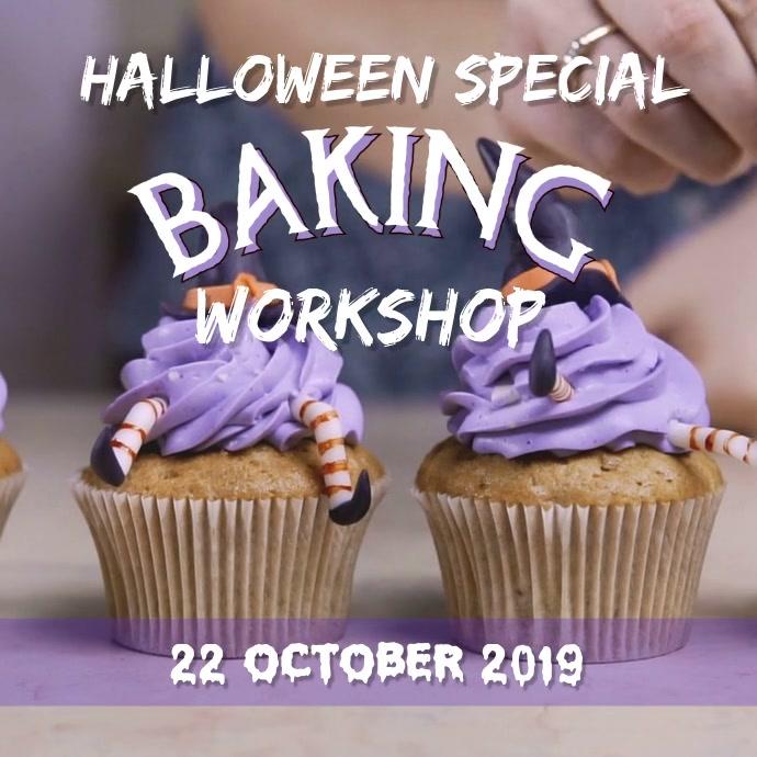 Baking workshop Quadrato (1:1) template