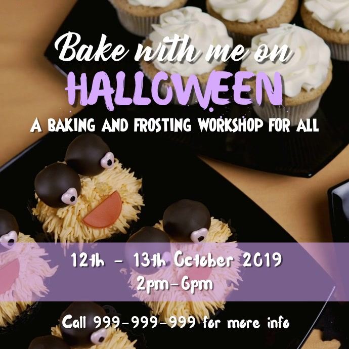 Baking workshop Quadrato (1:1) template