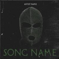 BALACLAVA Rap Mixtape Cover Art Template