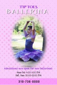 Ballet Class Poster/Flyer Template