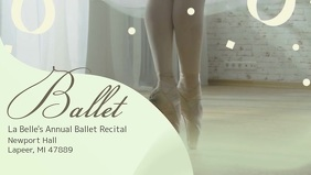 Ballet Classes Advertisement Facebook Video