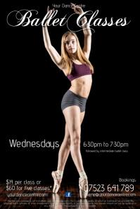 Ballet Classes Flyer
