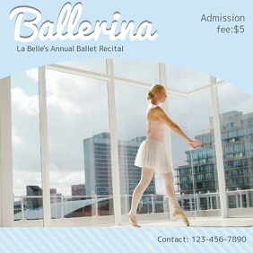 Ballet Dance Ad Square Video Sample