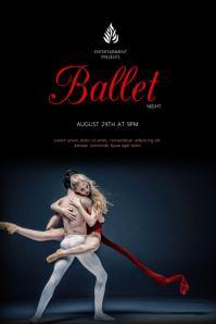 Ballet Event Flyer Template