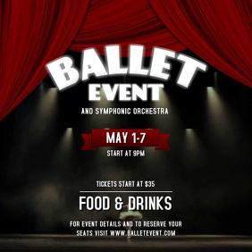 Ballet Event Instagram Video