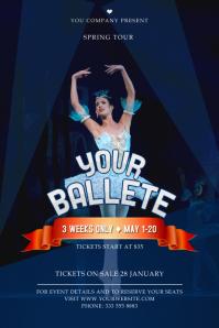 Ballet Event Poster