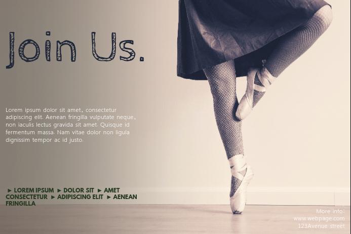 Ballet Flyer Template