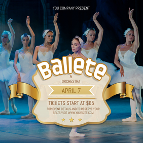 Ballet Orchestra Square Image