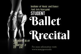 Ballet Poster Template