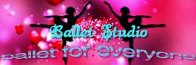 Ballet studio banner template