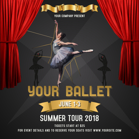 Ballet Summer Tour Square Image