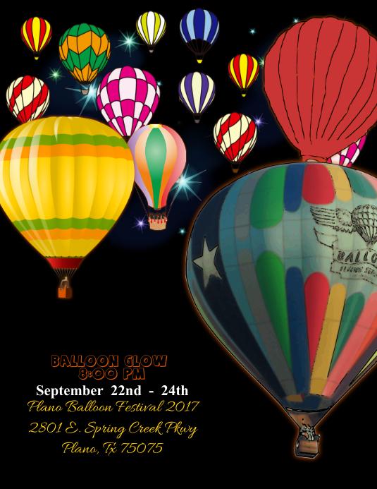 Balloon Festival Flyer