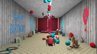 Balloons theme Birthday Wishes video Digitale Vertoning (16:9) template