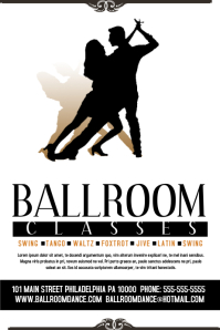 Ballroom Classes Dance Poster