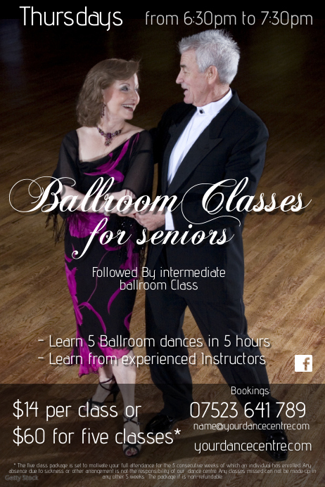 Ballroom classes for seniors