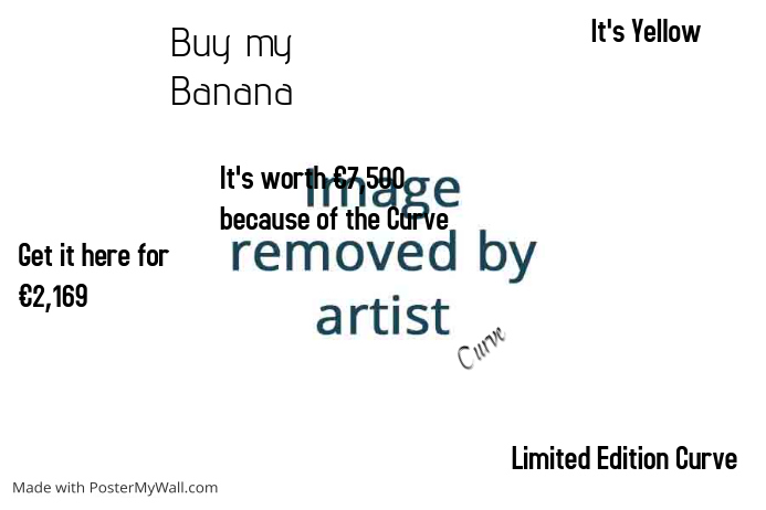banana template postermywall