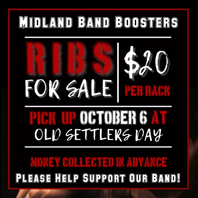 Band Boosters Flyer