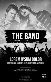 Band Concert Event Flyer Template