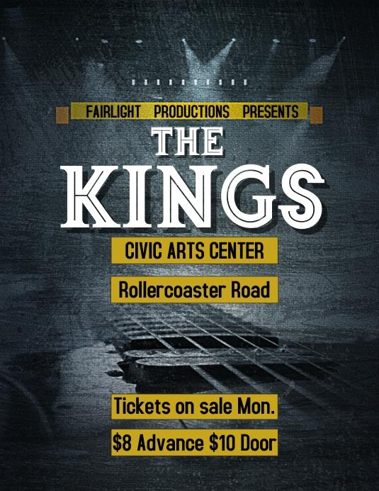 Band Concert Flyer Template