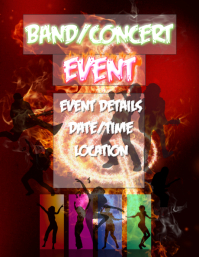 Band Concert Music Event Flyer