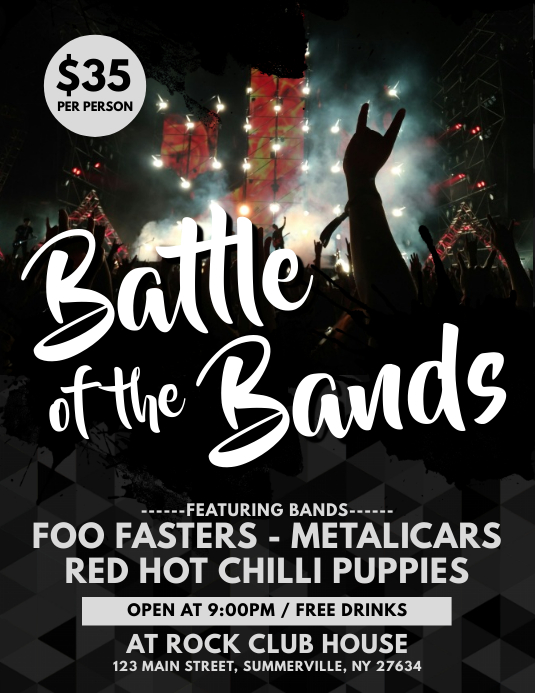 Band/Concert Flyer