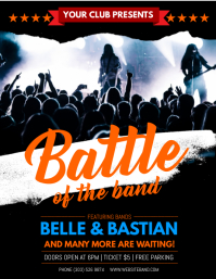 Concert/Band Flyer Templates | PosterMyWall