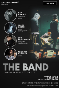 Band Flyer Template