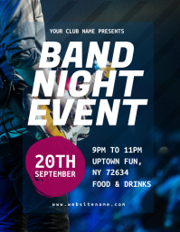 Band Night Event Flyer