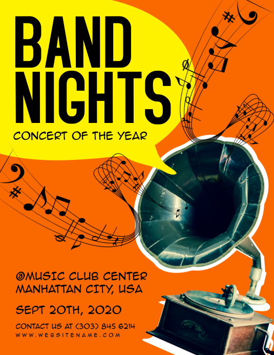 Band Nights Flyer