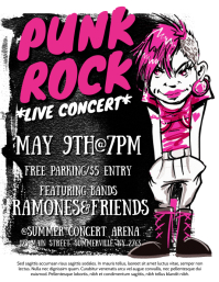 Bands Concert Flyer
