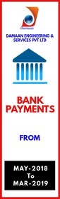 Bank Payments Half Page Legal template