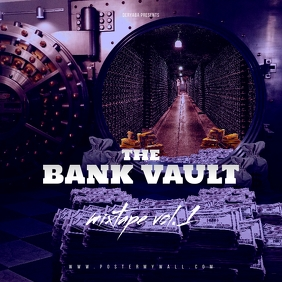 Bank Vault The Mixtape CD Cover