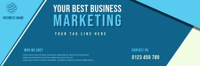 BANNER OF corporate business flyer template
