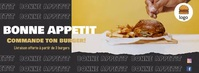 Bannière Facebook restaurant template