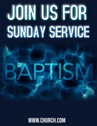 BAPTISM CHURCH SERVICE